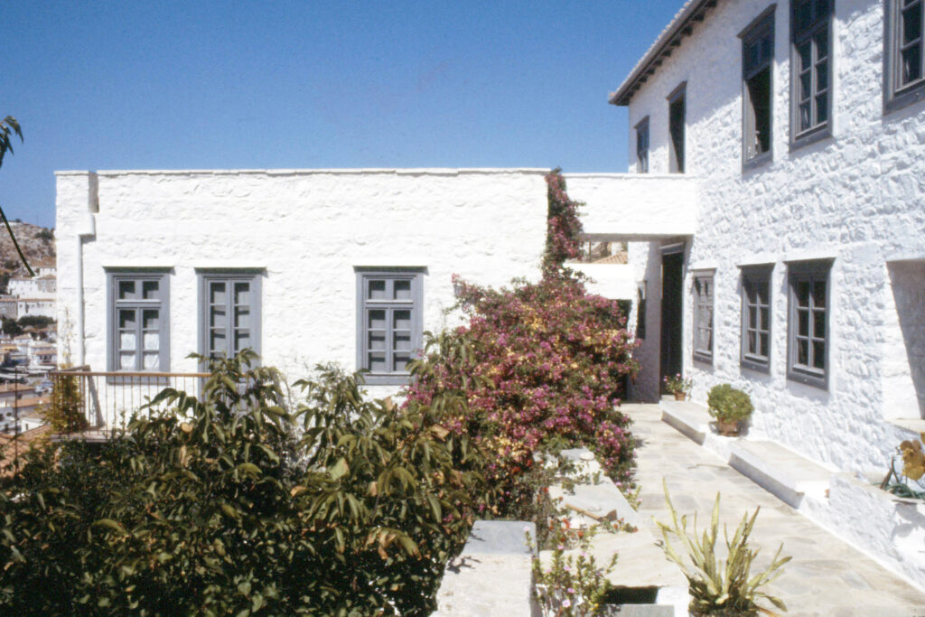 Single-family house on the island of Hydra