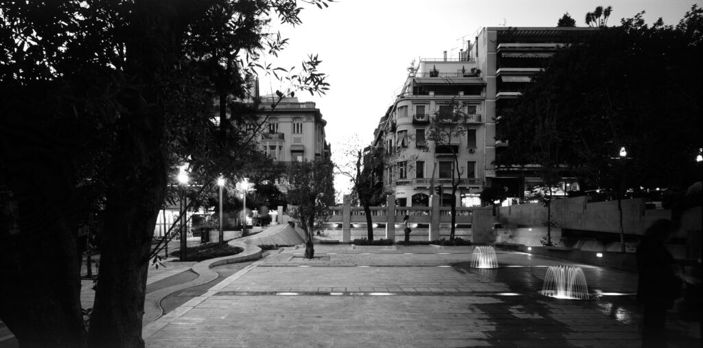 Renovation of Kolonaki Square