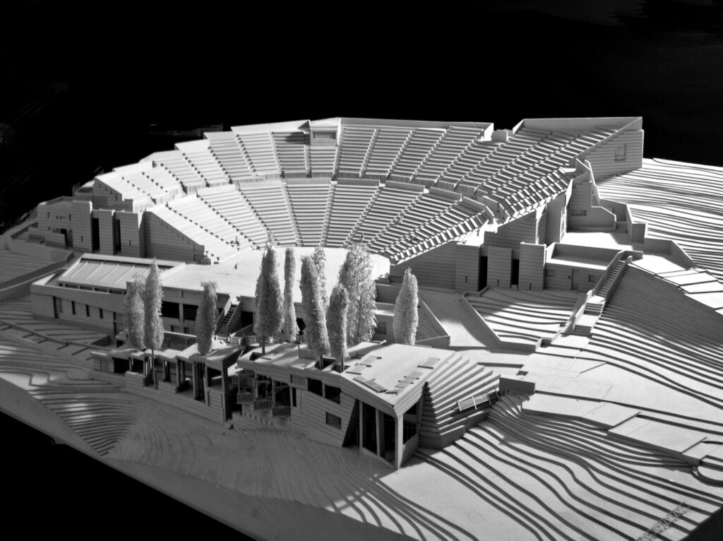 The theatre in the Forest, Thessalonica